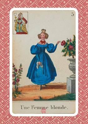 Carnet Blanc, Cartomancie, Femme Blonde, 18e Si�cle - Bnf Cartes a Jouer (Paperback)