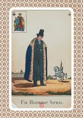 Carnet Blanc, Cartomancie, Homme Brun, 18e Si cle - Bnf Cartes a Jouer (Paperback)