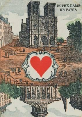 Carnet Blanc, Carte � Jouer, Notre-Dame-De-Paris - Bnf Cartes a Jouer (Paperback)