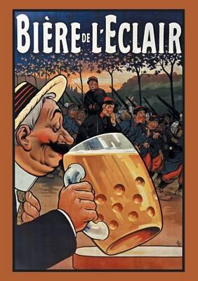 Carnet Lign� Bi�re de l'Eclair - Bnf Affiches (Paperback)