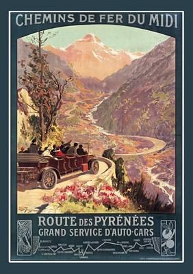 Carnet Ligne Chemins de Fer Du MIDI - Bnf Monuments (Paperback)