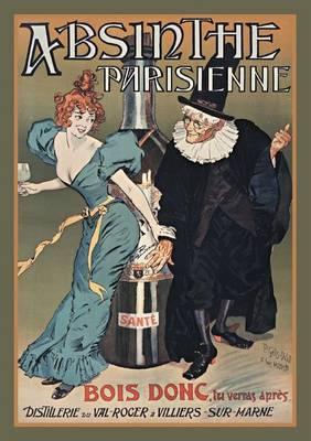 Carnet Blanc Absinthe Parisienne - Bnf Affiches (Paperback)