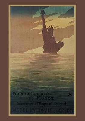 Carnet Blanc Statue de la Libert� - Bnf Affiches (Paperback)