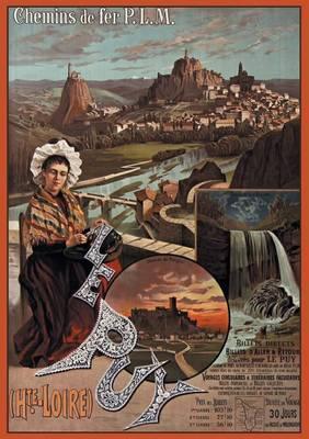 Carnet Blanc Chemins de Fer P.L.M - Bnf Monuments (Paperback)