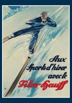 Carnet Blanc Skieur - Bnf Sports (Paperback)