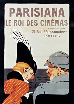 Carnet Blanc Le Roi Des Cin�mas - Bnf Affiches (Paperback)