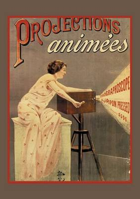 Carnet Blanc Projection Cin�ma - Bnf Affiches (Paperback)