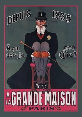 Carnet Lign� � Qui Dois-Je Mon Chic ? - Bnf Affiches (Paperback)
