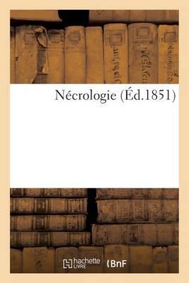 N�crologie - Histoire (Paperback)