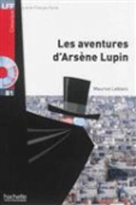 Les aventures d'Arsene Lupin - Book + CD MP3