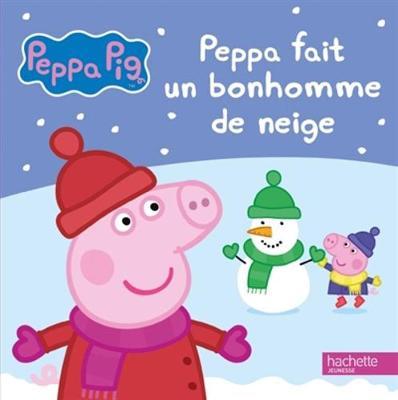 Peppa Pig: Peppa fait un bonhomme de neige (Hardback)