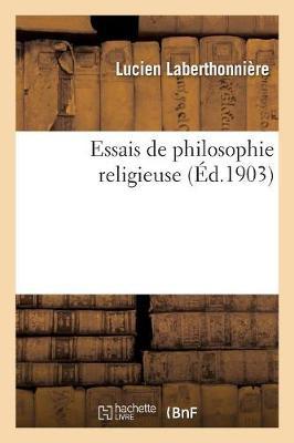Essais de Philosophie Religieuse - Philosophie (Paperback)