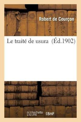 Le Trait� de Usura - Sciences Sociales (Paperback)