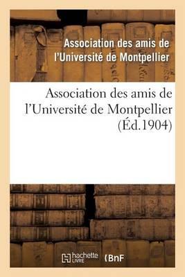 Association Des Amis de l'Universit� de Montpellier - Sciences Sociales (Paperback)
