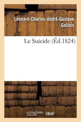 Le Suicide - Litterature (Paperback)