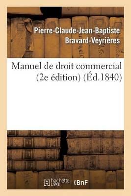 Manuel de Droit Commercial - Sciences Sociales (Paperback)