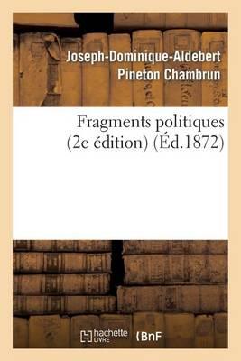 Fragments Politiques (2e �dition) - Sciences Sociales (Paperback)