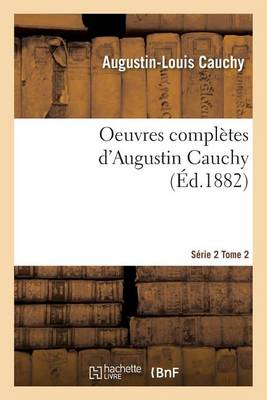 Oeuvres Compl�tes S�rie 2 Tome 2 - Sciences (Paperback)