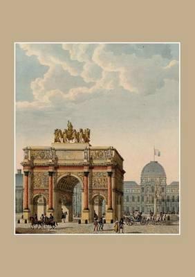 Carnet Lign�, Paris ARC de Triomphe Du Carrousel - Bnf Monuments (Paperback)