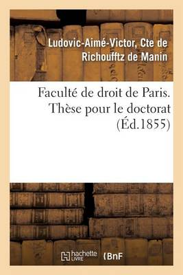 La Compensation: Th�se Pour Le Doctorat - Sciences Sociales (Paperback)