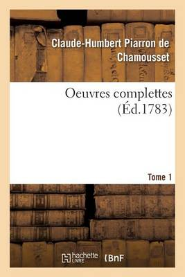 Oeuvres Complettes T01 - Sciences Sociales (Paperback)