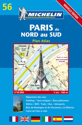 Paris Atlas 2004 - Michelin City Plans No.56 (Paperback)