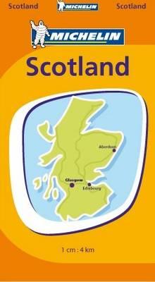 Mini Map Scotland 2007 - Michelin Pocket Maps No. 8501 (Sheet map, folded)