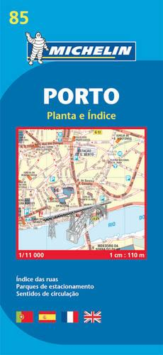 Porto - Michelin City Plan 85: City Plans - Michelin City Plans (Sheet map)