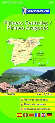 Pirineos Centrales - Michelin Zoom Maps No. 145 (Sheet map, folded)