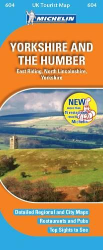 Yorkshire and the Humber - UK Tourist Maps No. 604 (Sheet map, folded)
