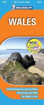 Wales - UK Tourist Maps No. 605 (Sheet map, folded)