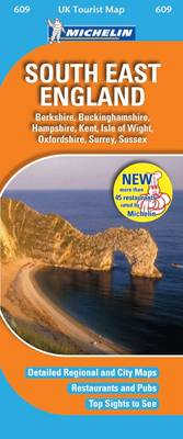 South East England - UK Tourist Maps No. 609 (Sheet map, folded)