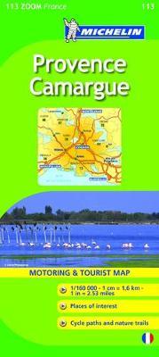 Provence 2010 - Michelin Zoom Maps No. 0113 (Sheet map, folded)