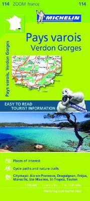 Pays Varois, Verdon Gorges 2010 - Michelin Zoom Maps No. 0114 (Sheet map, folded)