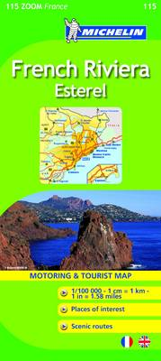 French Riviera, Esterel 2010 - Michelin Zoom Maps No. 0115 (Sheet map, folded)