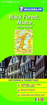 Black Forest, Alsace, Rhine Valley 2010 - Michelin Zoom Maps No. 0131 (Sheet map, folded)