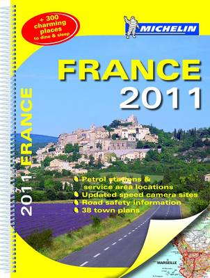 France 2011 Atlas 2011 - Michelin Tourist and Motoring Atlases (Spiral bound)