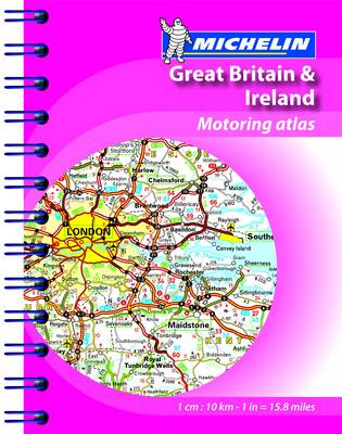 Mini Atlas GB & Ireland - Michelin Tourist and Motoring Atlases (Spiral bound)