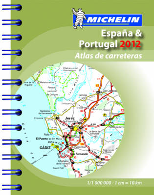 Spain & Portugal Mini Atlas 2012 - Michelin Tourist and Motoring Atlases (Spiral bound)