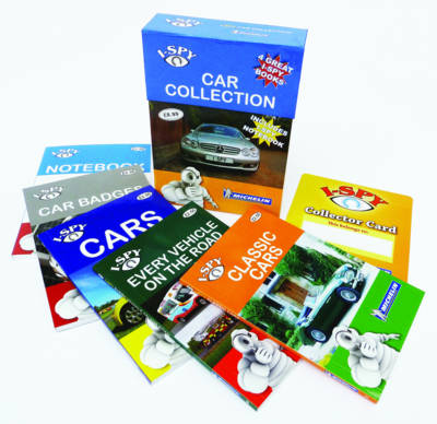 I-Spy Cars Collection - Michelin I-Spy Guides