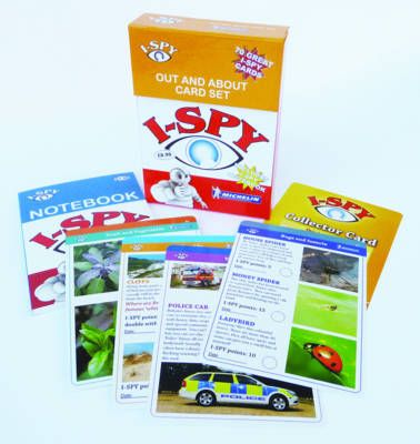 i-SPY Out and About Cards Collecton - Michelin i-SPY Guides (Paperback)