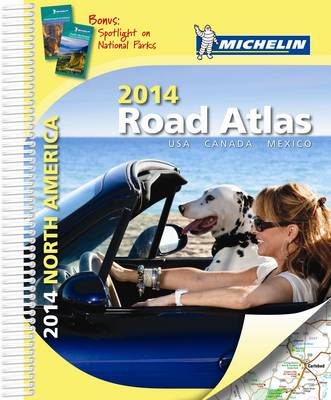 USA Canada Mexico - Michelin Tourist and Road Atlases 9520 (Spiral bound)