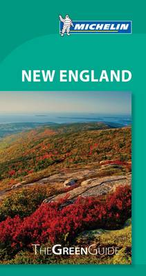 New England Green Guide - Michelin Green Guides (Paperback)