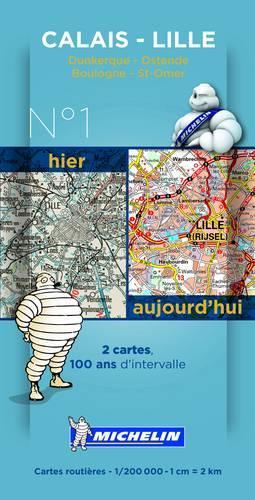 Calais-Lille Centenary Maps - Michelin Historical Maps 8001