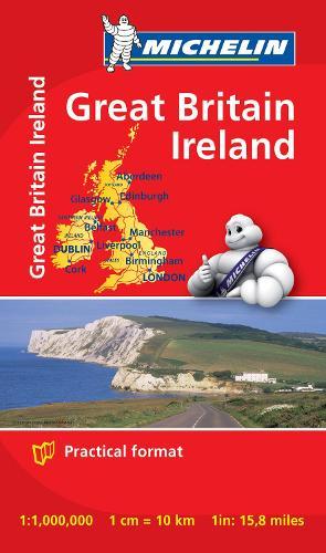 Great Britain & Ireland - Michelin Mini Map 8713: Map - Michelin Mini Maps (Sheet map)