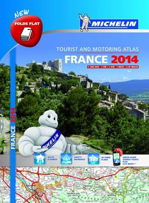 France 2014 Multi Flex Tourist and Motoring Atlas - France Atlas (Paperback)