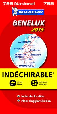 Benelux National 2015 Map 0795 High Resistance (Sheet map, folded)