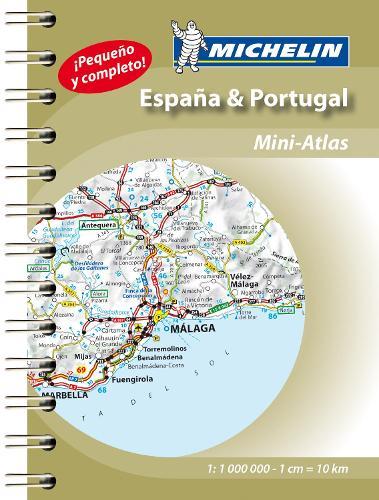 Spain & Portugal - Mini Atlas: Mini Atlas Spiral - Michelin Road Atlases (Spiral bound)