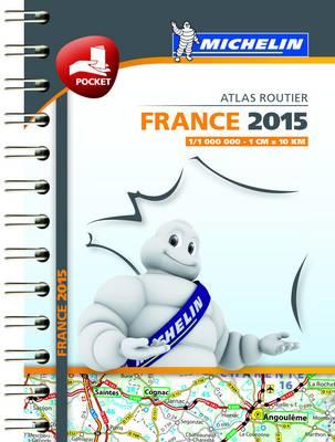 France 2015 Mini Atlas - Michelin Tourist and Motoring Atlas (Spiral bound)