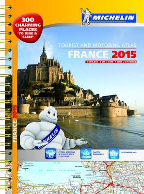 France 2015 Atlas - Michelin Tourist and Motoring Atlases (Spiral bound)